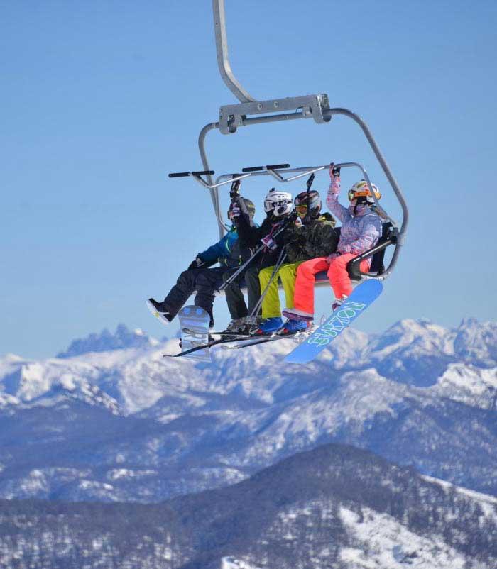 ski en san martin de los andes