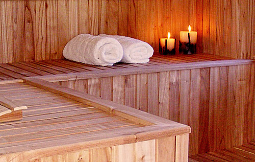 Sauna Cabañas del Lacar