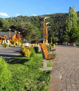 Boulevard lago Lacar