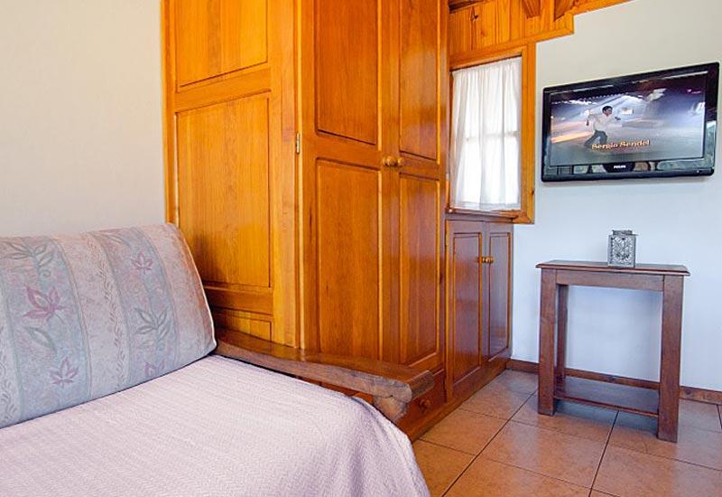 Dormitorio duplex Cabañas VIP