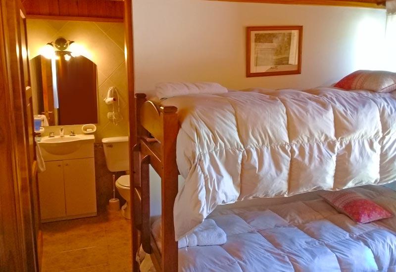 Dormitorios Cabañas VIP Superior