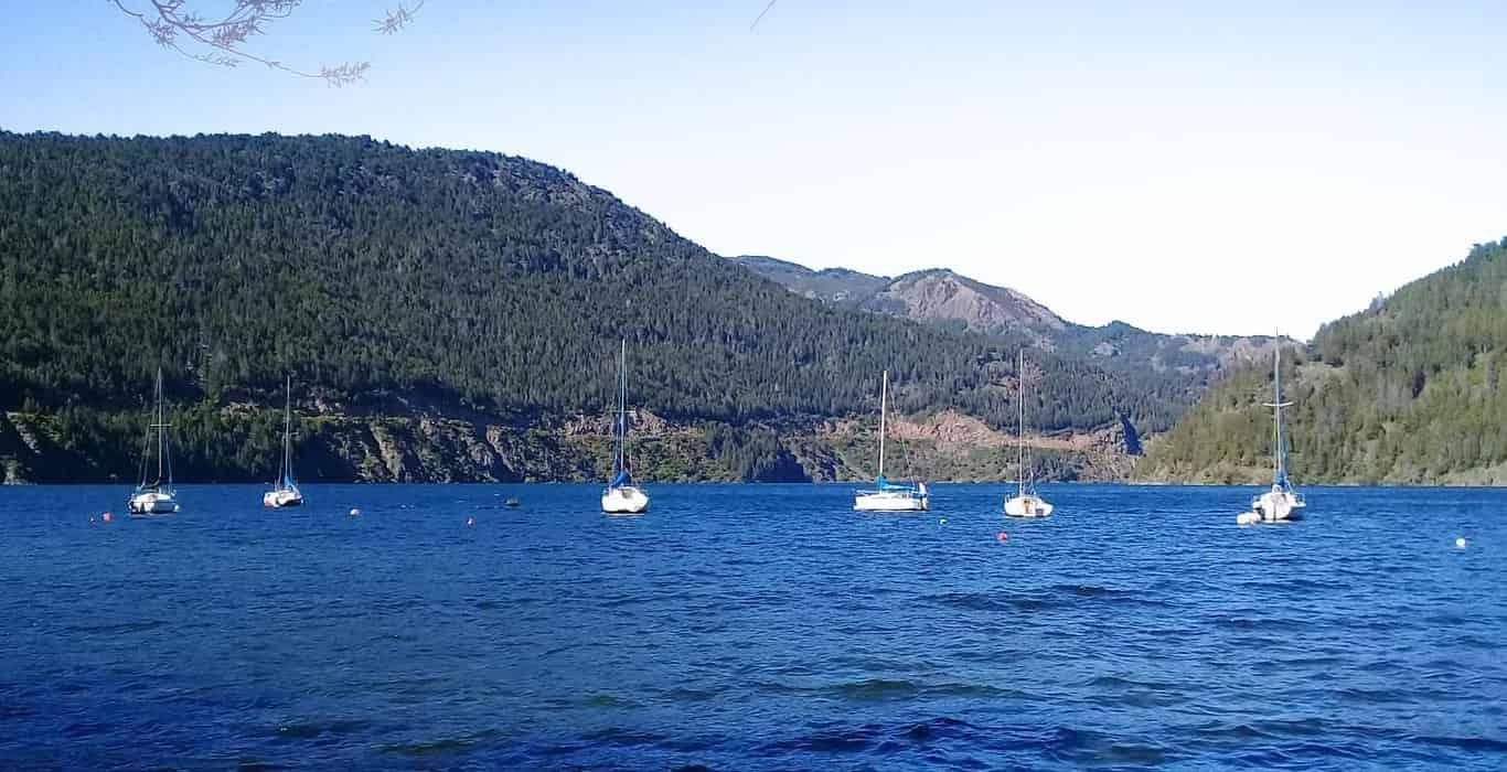 Lago Lacar en San Martin de los Andes